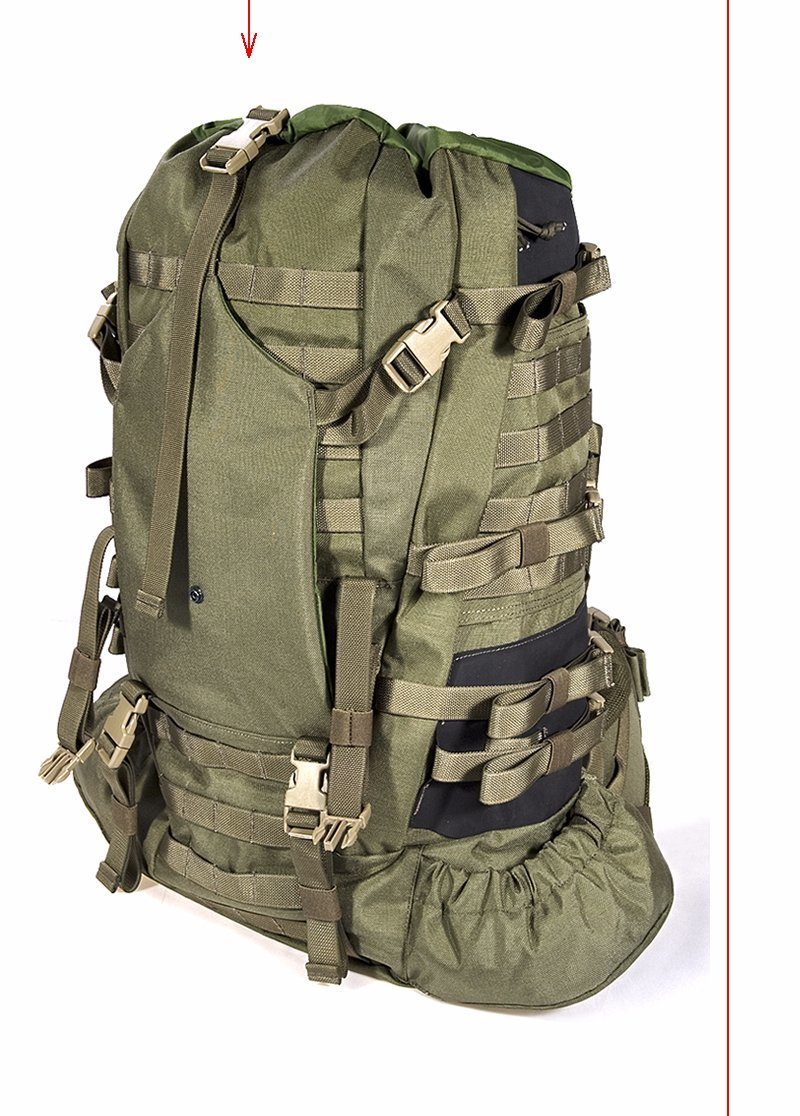 Middle-Size 1000d Nylon Military Tactical Hiking Sports Backpack