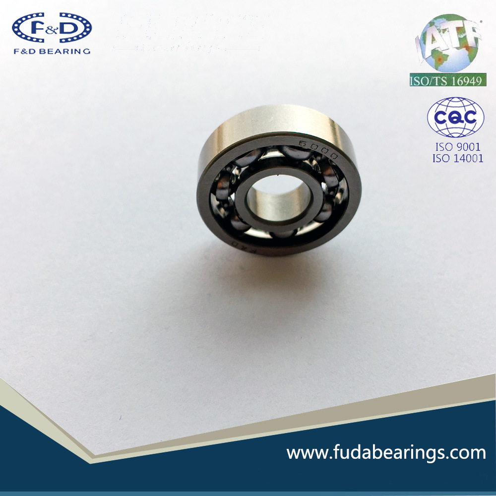 Single Row Radial Ball Bearings 6000 Open