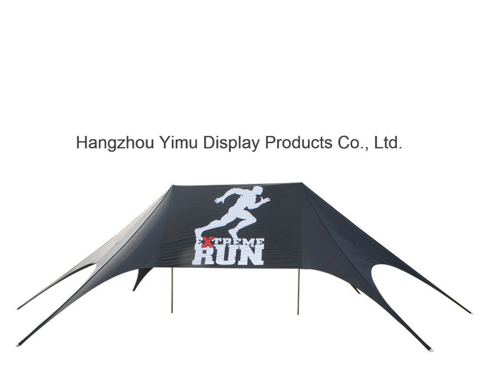 Waterproof Star Tent Single Pole /Double Poles Star Shade for Event
