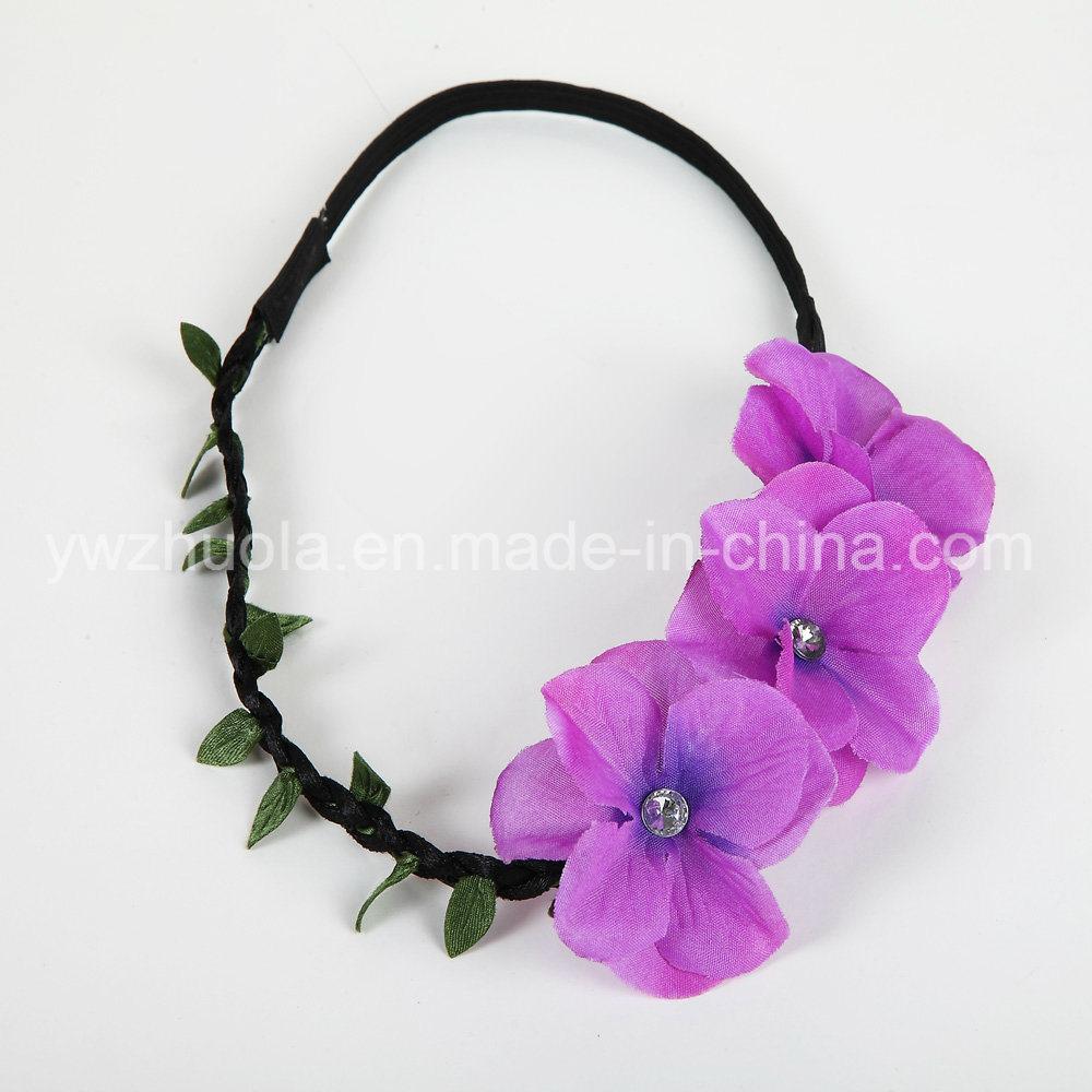 Hair Flower Headband for Wedding Decoration