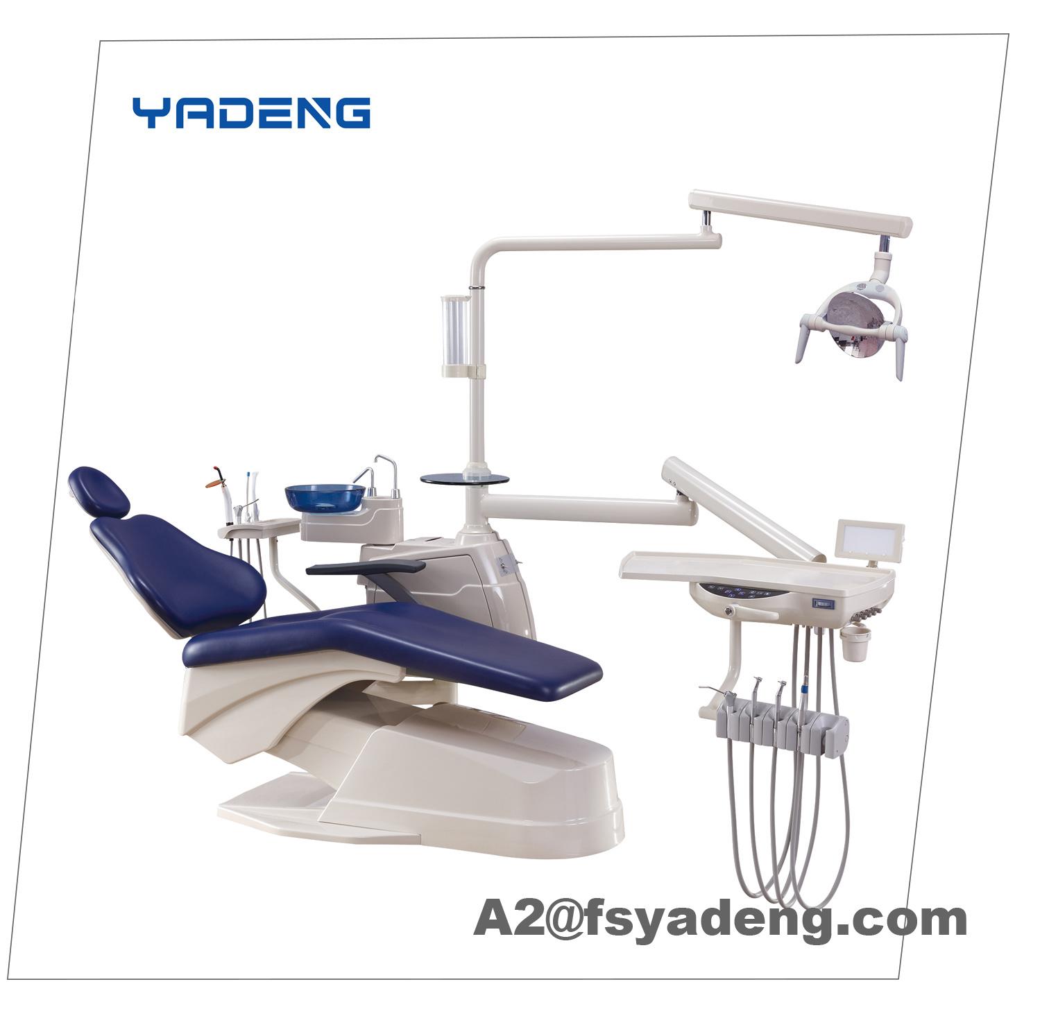 China Electric Dental Chair Unit with U Shape Backrest China