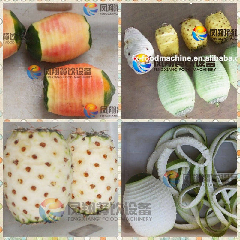 4 PCS/Minute Automatic Fruit Coconut Pineapple Watermelon Grapefruit Peeler