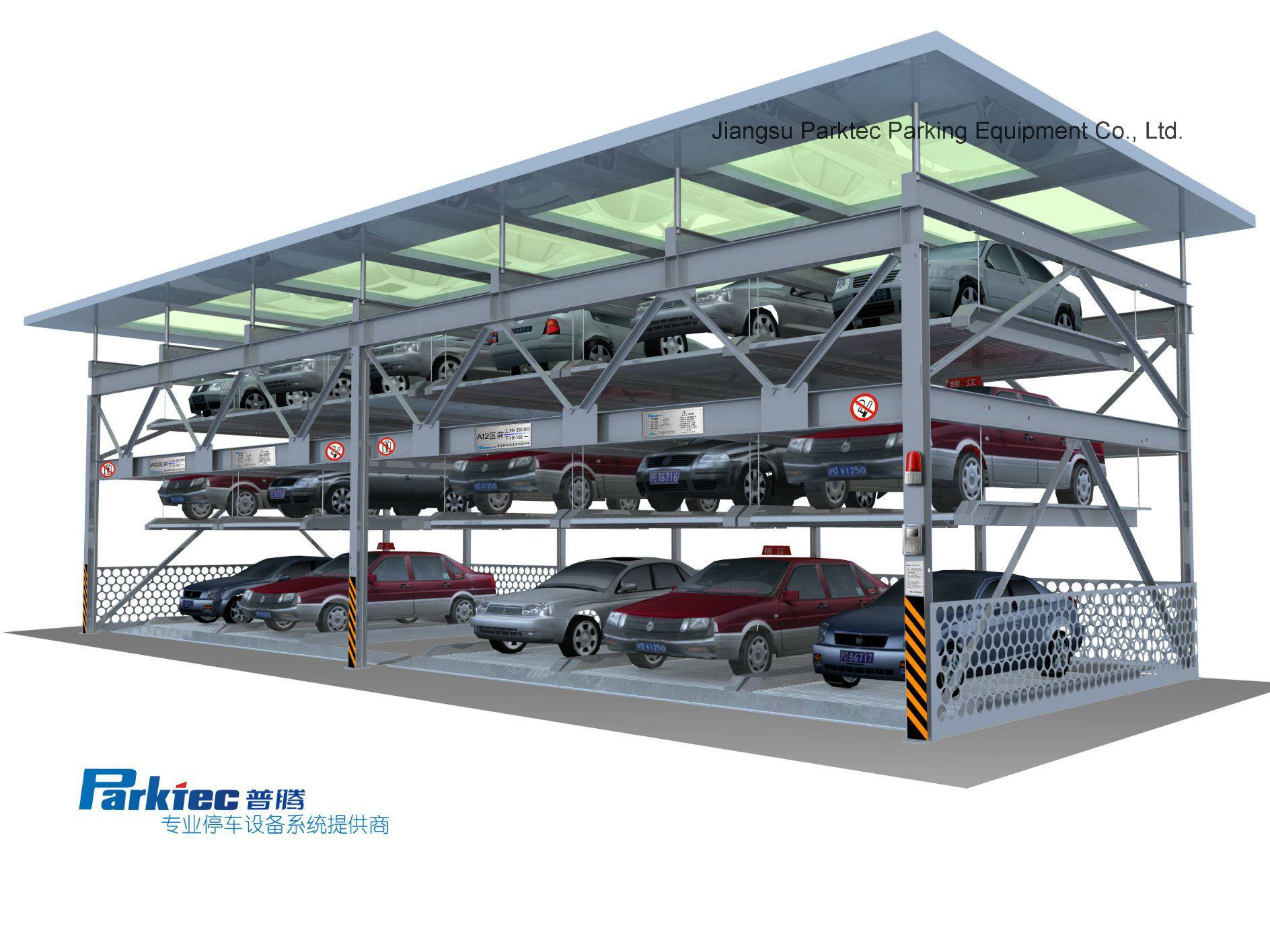Unmanned Puzzle Parking Garage