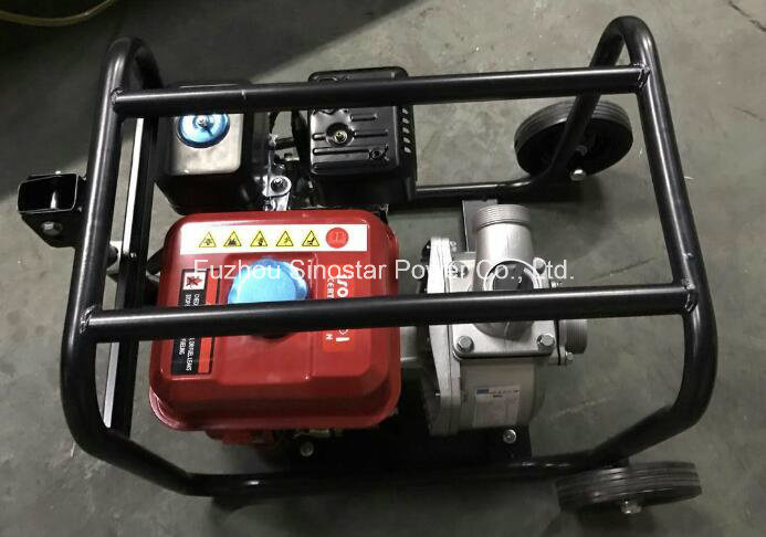 "Wp 2"" 3"" 4"" Series Gasoline Water Pump Set for Irrigation"