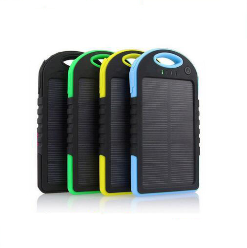 Waterproof Portable Solar Mobile Power Supply