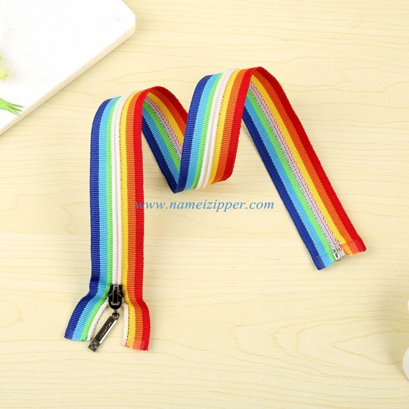 No. 5 Nylon Zipper Colored Tape