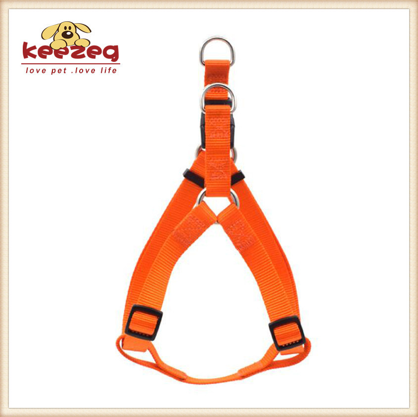 Durable Four Colors Nylon Dog Harness /Collar, Leashes Separately Matching (KC0108)