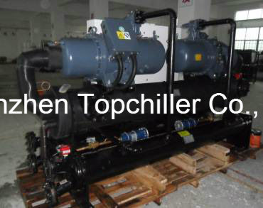 85rt/180-250kw Water Cooled Chiller for Yogurt and Milk Cooling
