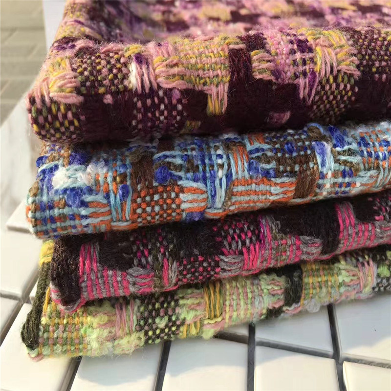 Wool Fabric, Tweed Fabric for Jacket, Garment Fabric, Textile, Suit Fabric