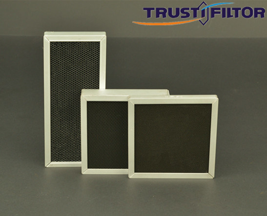 Indoor/ Outdoor Aluminum Honeycomb Ozone Destruction Catalyst Ozone Removal Filter