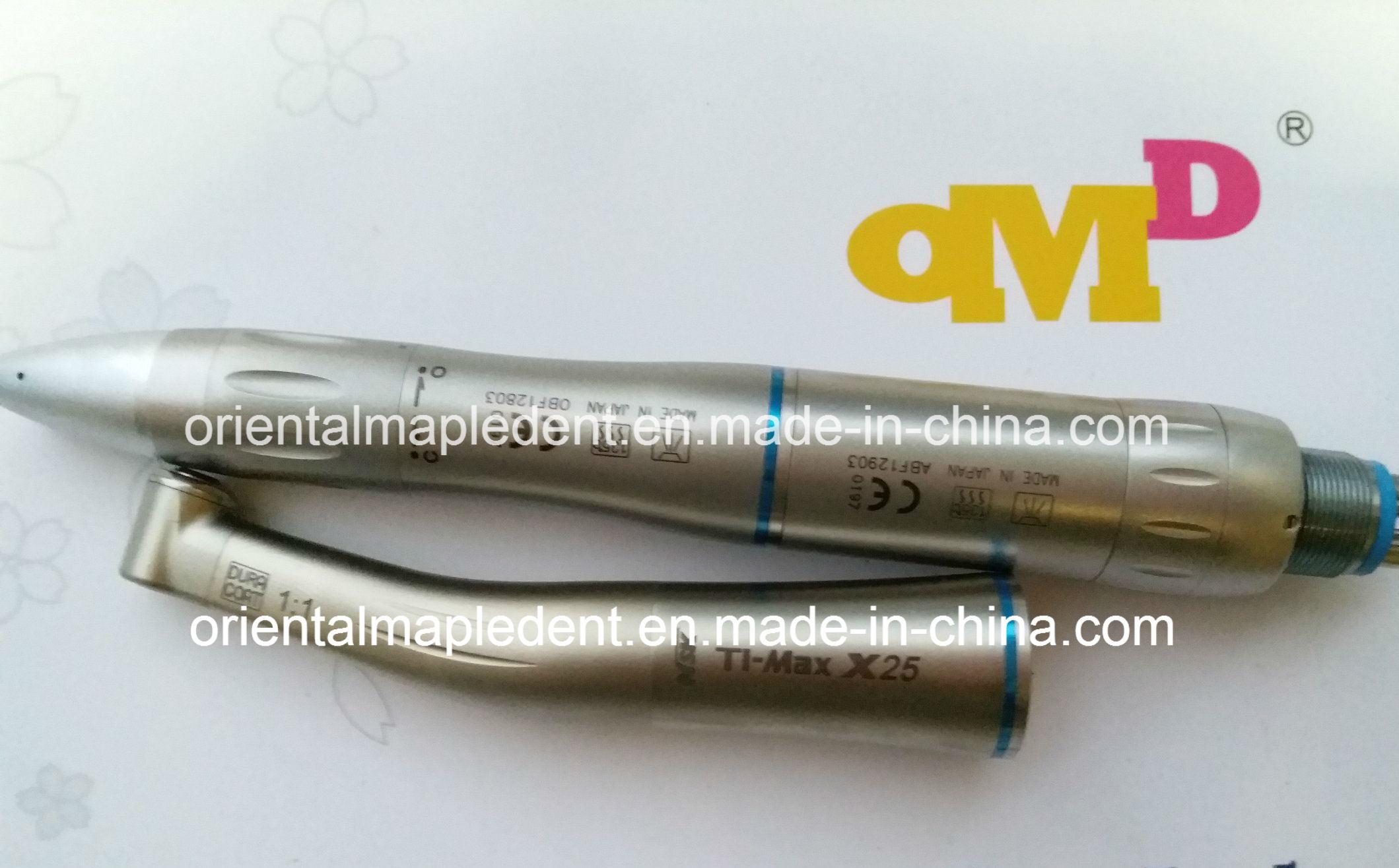 Stainless Steel Body Dental Internal Water Spray Low Speed Handpiece