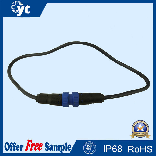 Electronic High Level Water-Resist IP67 3 Pin Connectors