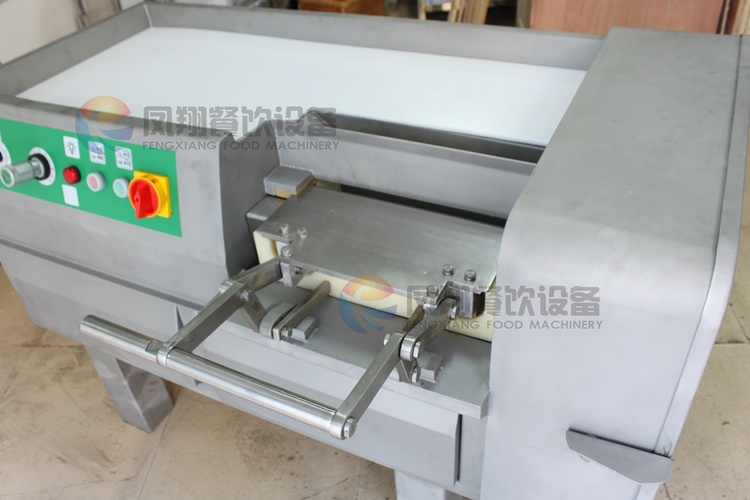 Chinese Super Automatic Large Frozen Cooked Beef Ham Meat Cube Cutter