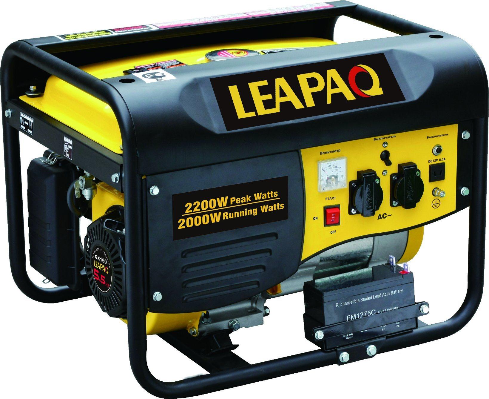 2.0kw Electric Start P-Type Portable Gasoline Generator