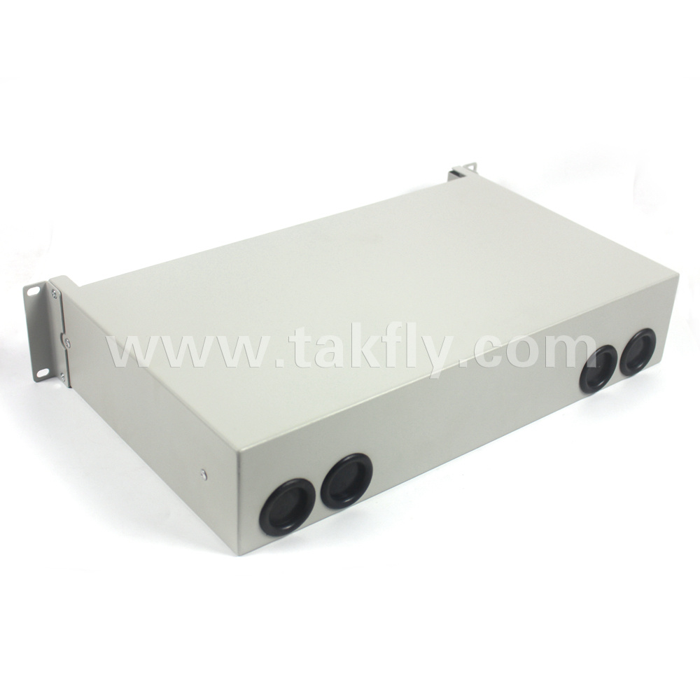 FTTH 48 Ports Fiber Optic Splice Closure/Cable Manager Patch Panel