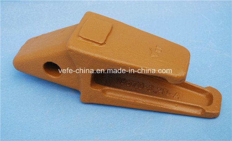 PC200 Excavator Bucket Teeth Adapter 205-939-7120 Teeth Adaptor
