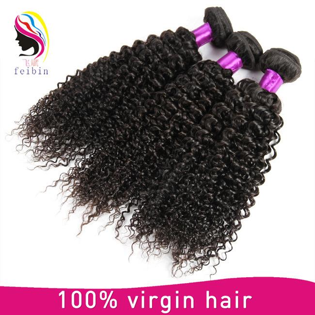 Overnight Shipping 8A Virgin Brazilian Kinky Curly Hair Extension