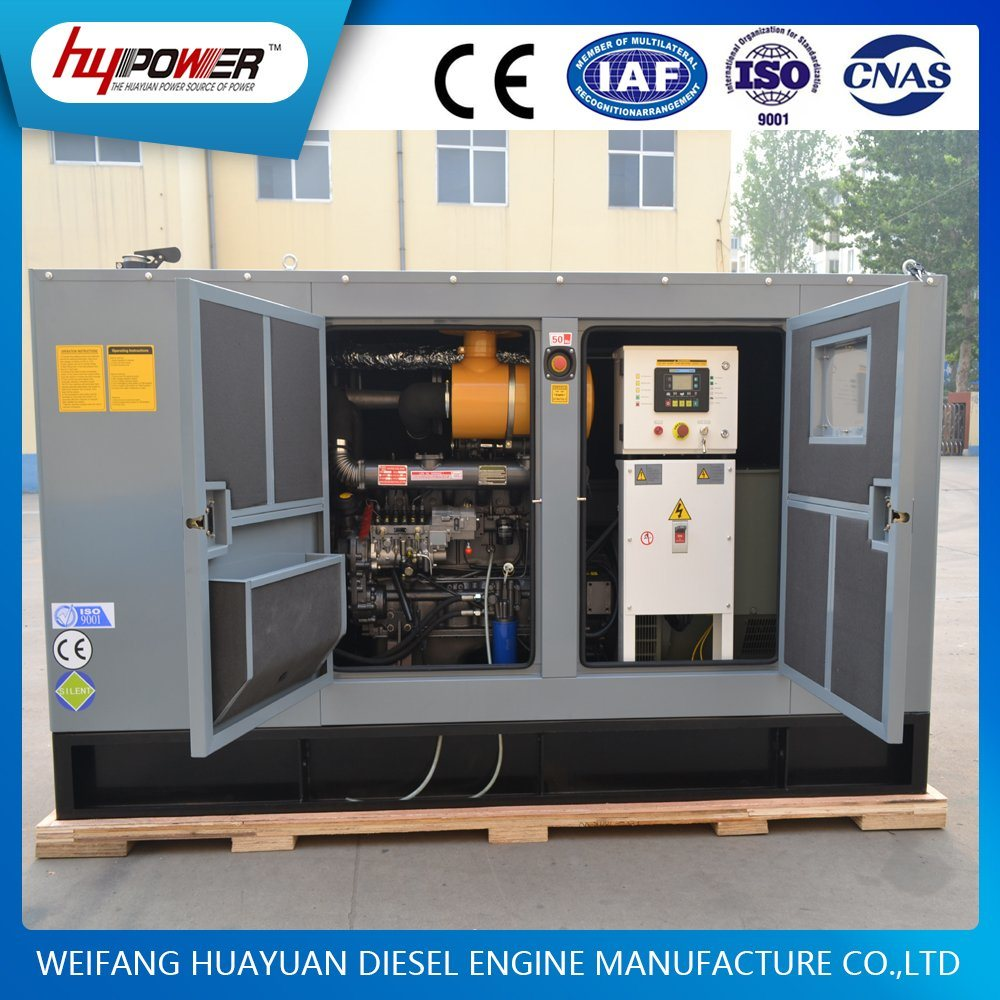 70kw Weichai Automatic Generator Set Powed by R6105 Diesel Engine