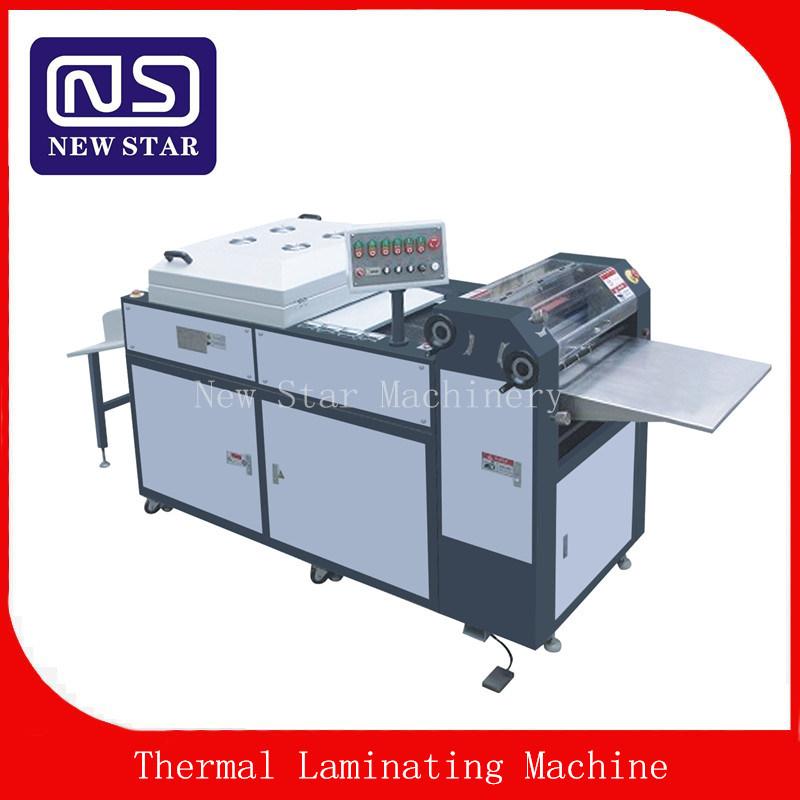 Sguv-660 Manual UV Coating Machine Coater for Paper Box