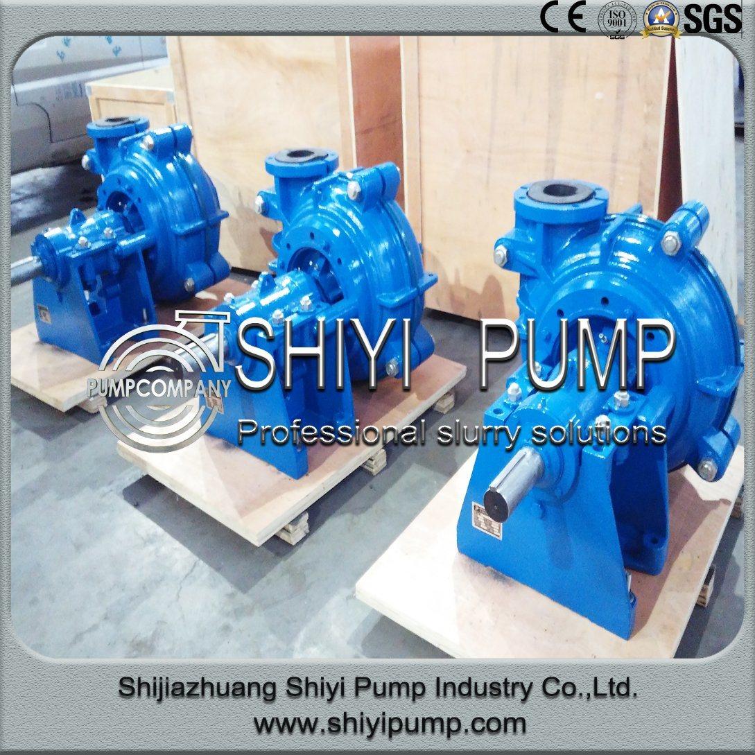 Water Treatment Centrifugal Abrasion Resistant Mud Mining Slurry Pump