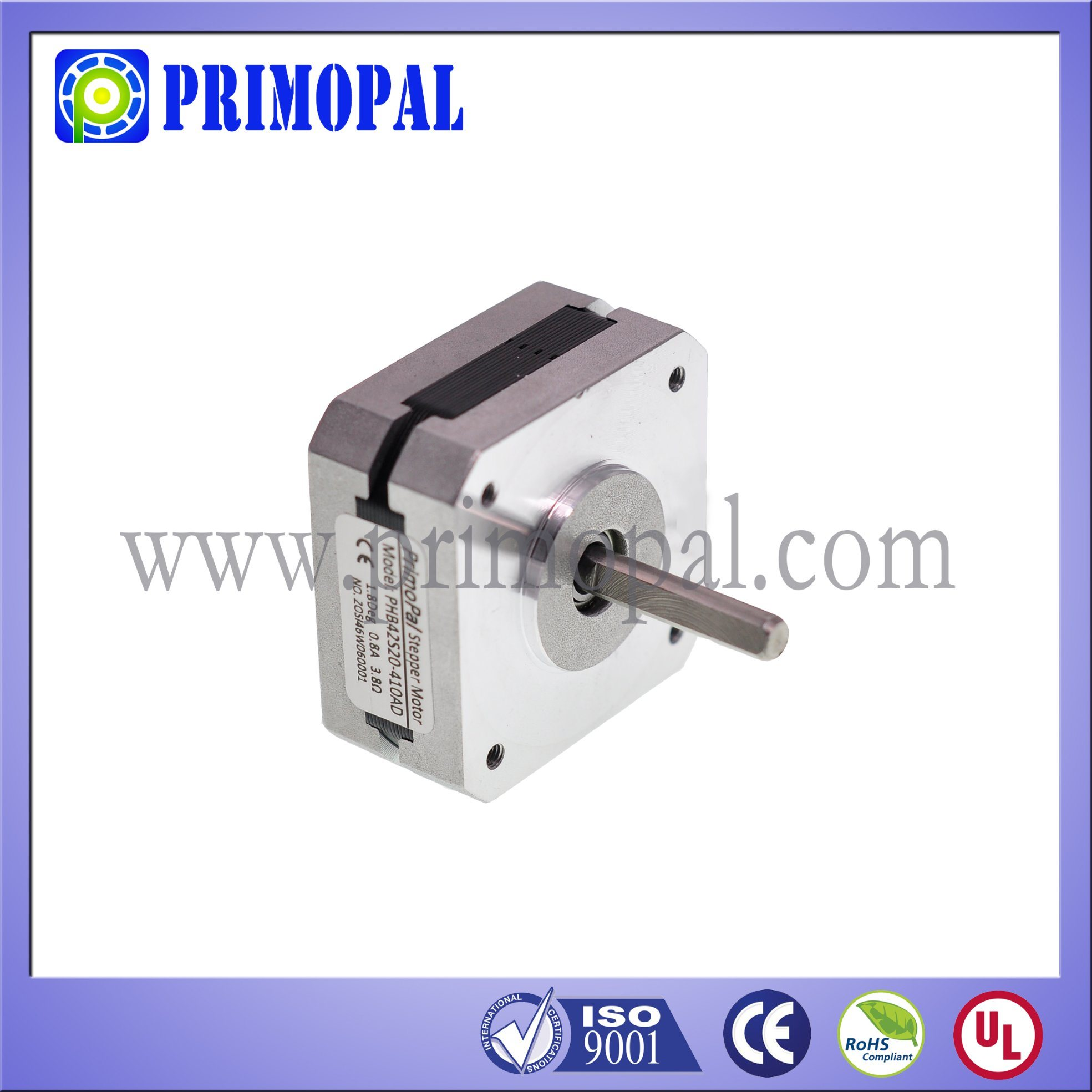 High Precision NEMA 17 Stepper Motor for CNC Applications