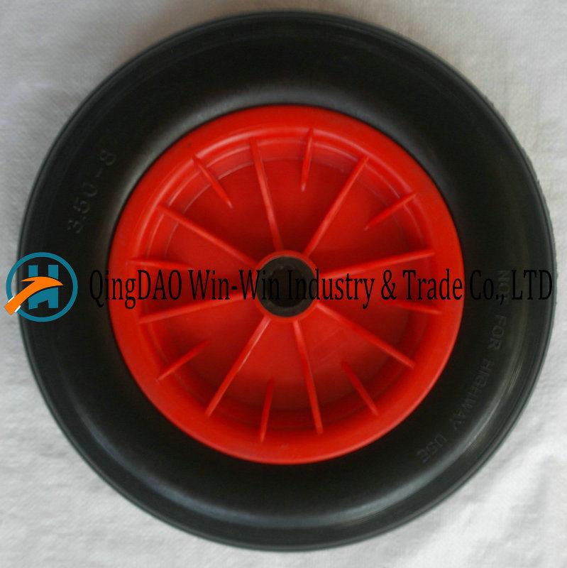 PU Foam Wheel with European Standard (3.50-8/350-8)