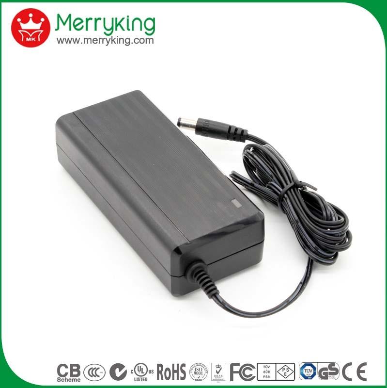 Level VI Desktop Single Output 12V5a Laptop AC Adapter