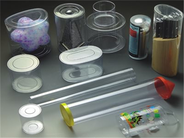 Gift Package Clear Pet/PETG Plastic Food Tubes