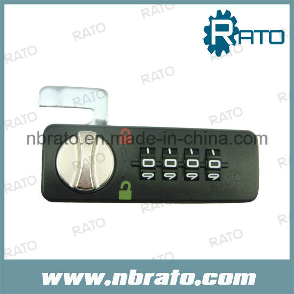 Four Number Plastic Mechanical Combination Locks