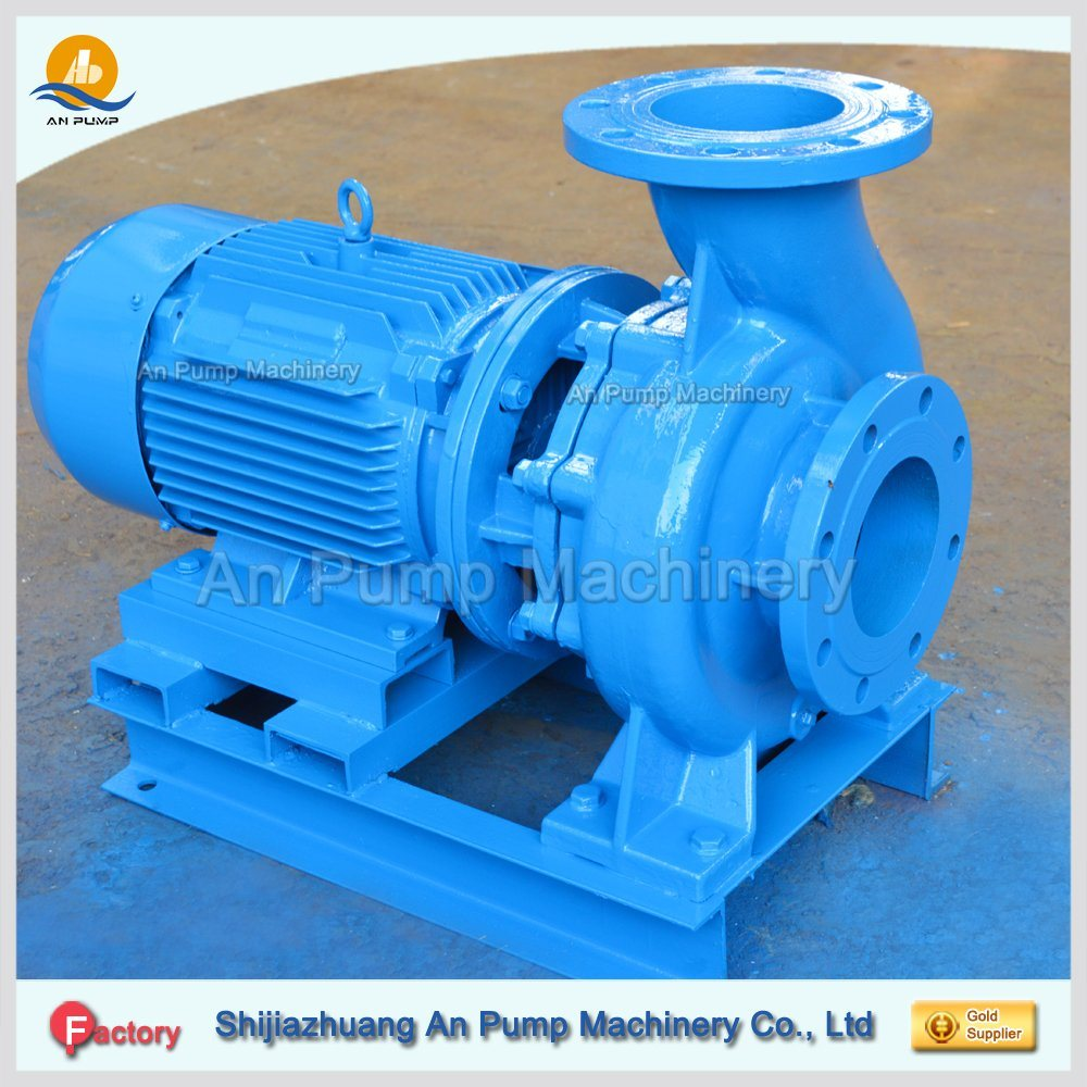 Pond Horziontal Monoblock Closed Coupling Pipeline Water Pump for Irrigation