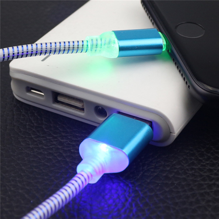 Micro USB Cable with Light Universal Charge and Sync Cord for Android