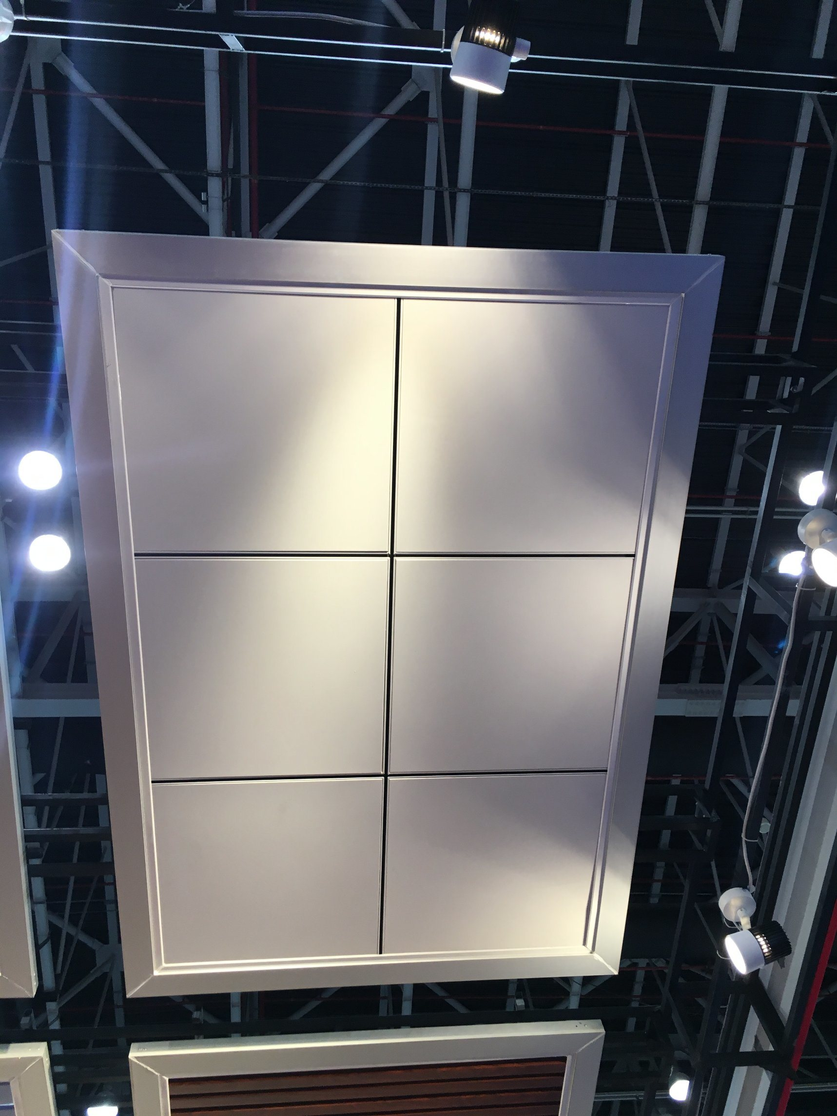 Metal Ceiling Aluminum Powder Coated Lay-in Ceiling Panel Suspened Ceiling Match T-Grid