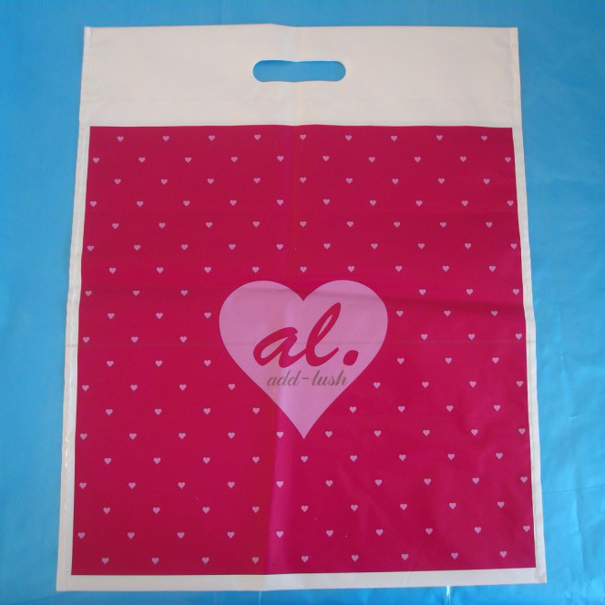 PE Punching Shopping Bag (30*40CM*60UM)