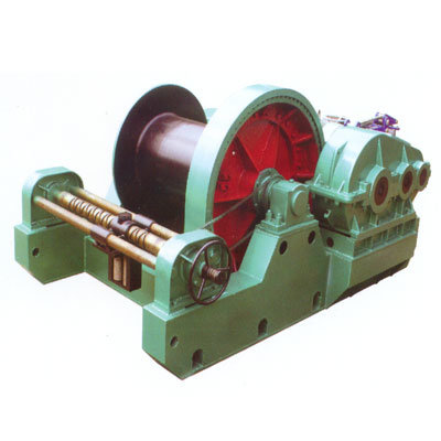 Electric Lifting Winch with Failsafe Brake
