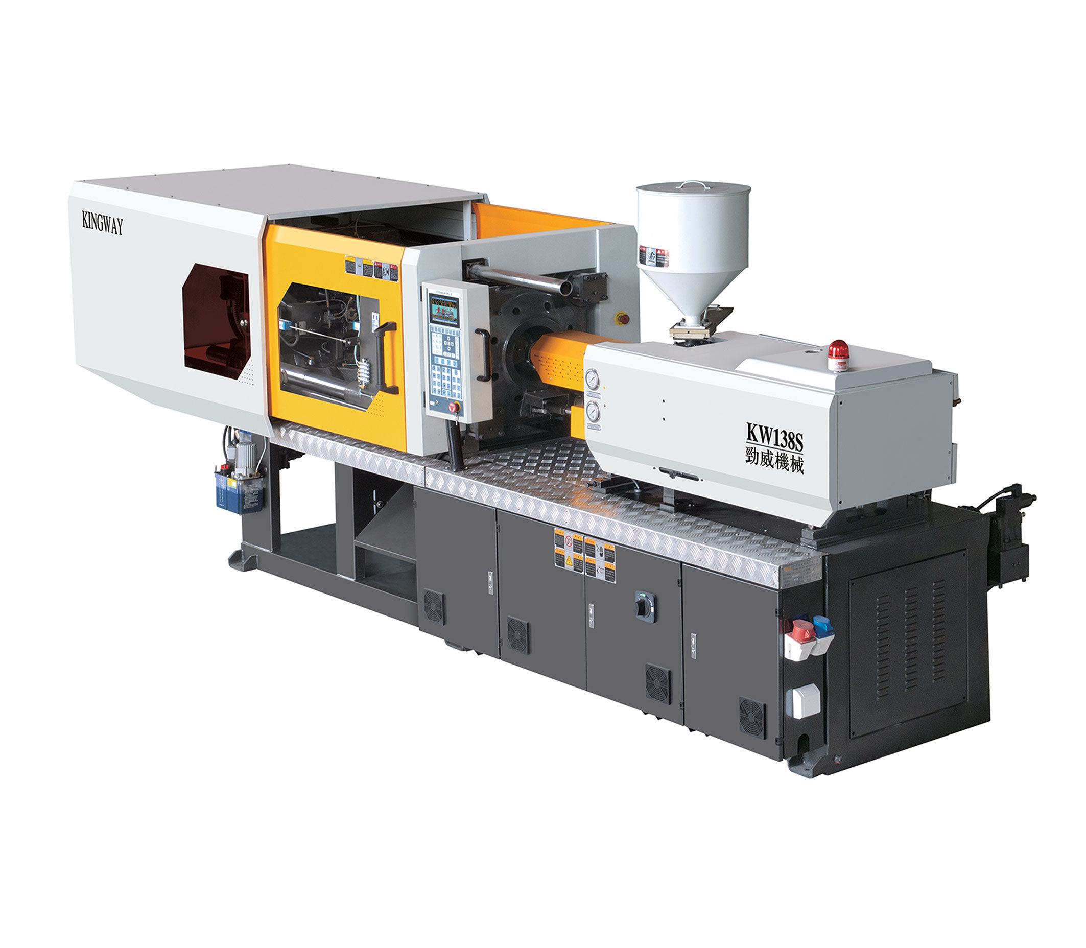 Servo Energy Saving Plastic Injection Machine (100Ton)