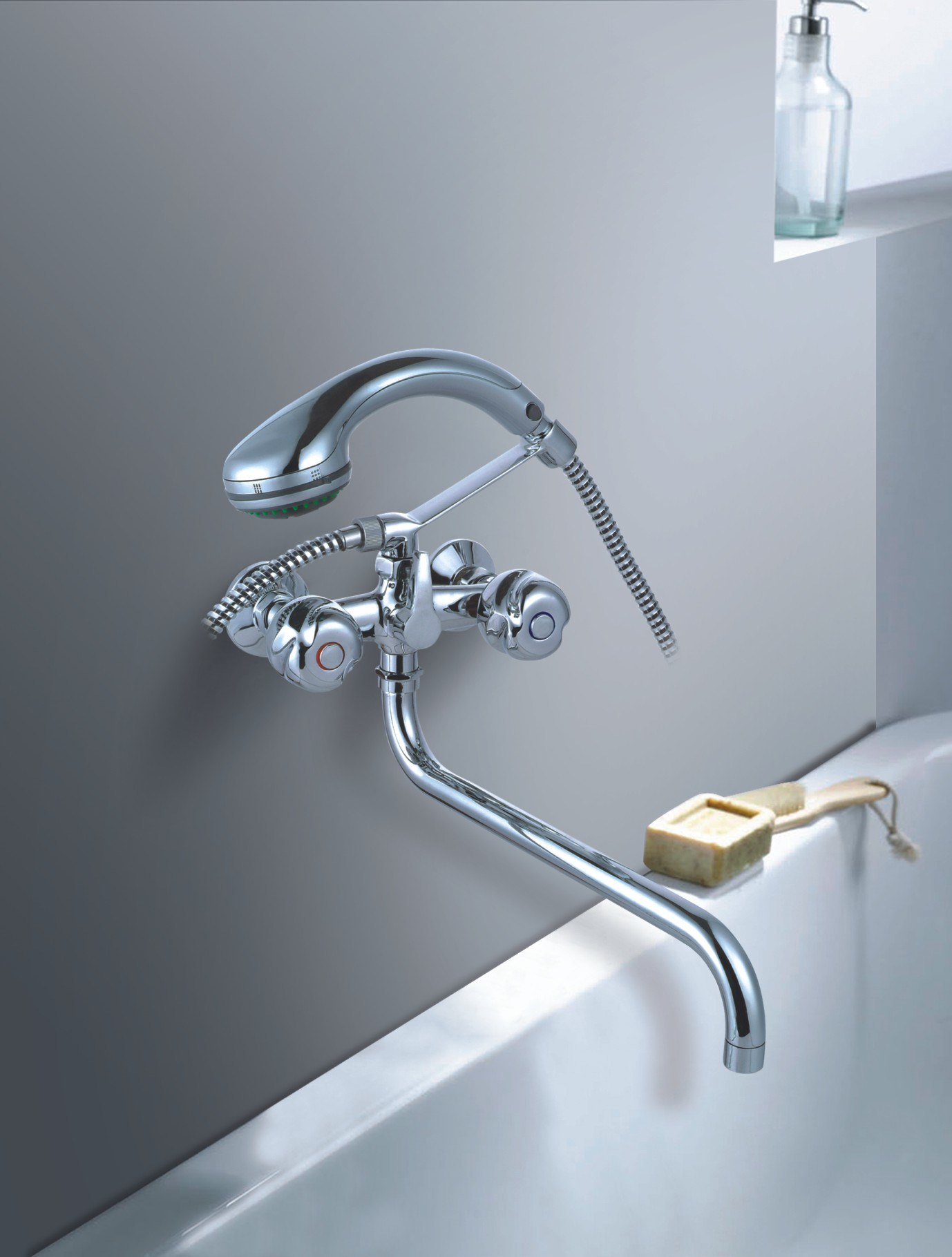 Tub and Shower Stem Compression Faucet Repair and Installation