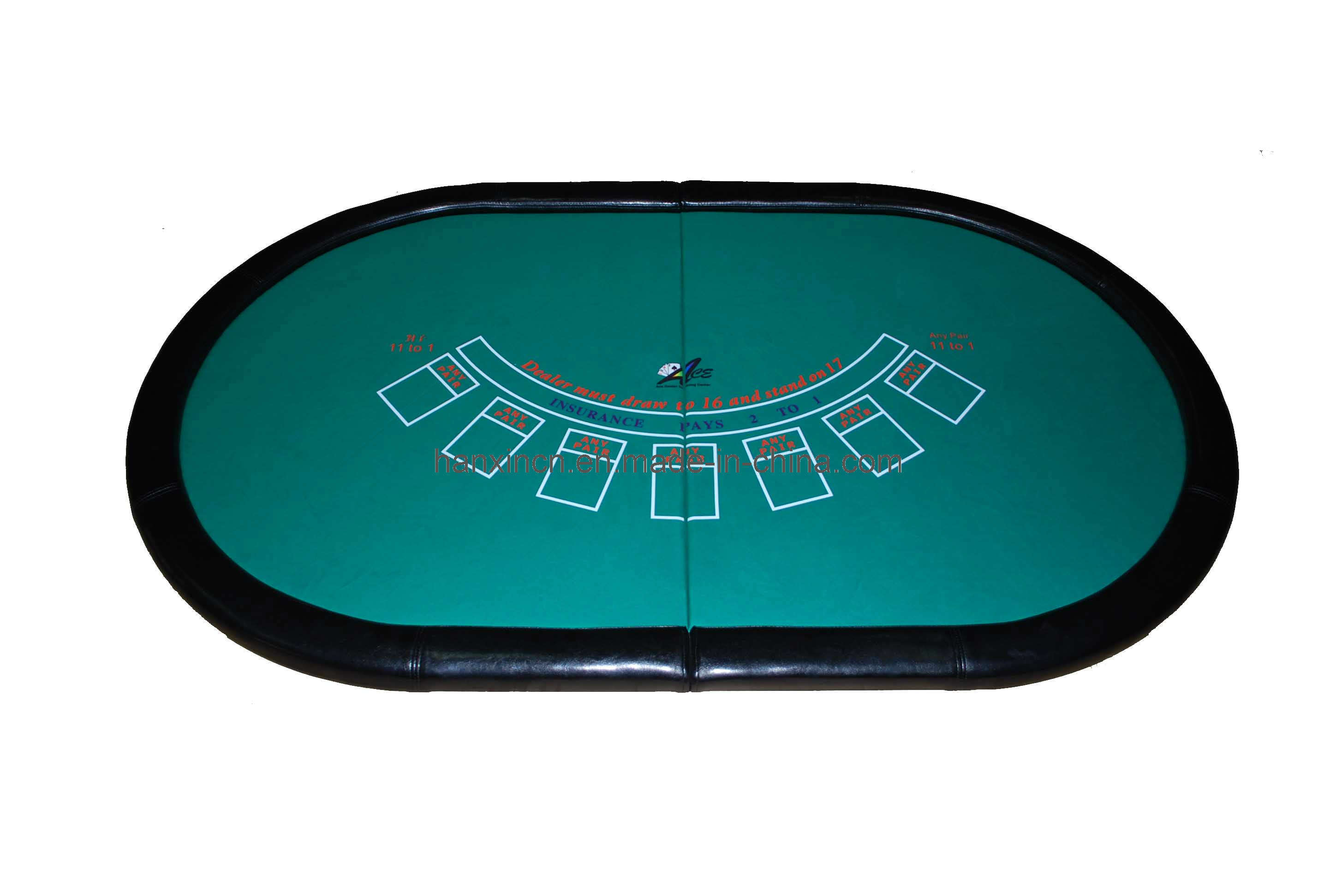China blackjack table top hxgtt 003 photos pictures for 10 person poker table top