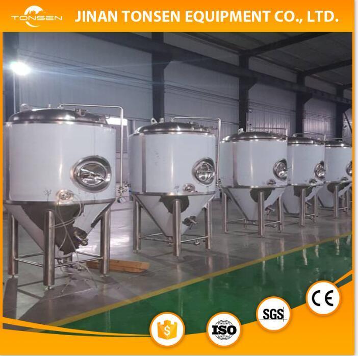 1000L Ale, Lager Beer Brew Equipment Cooling Jacket Fermenter