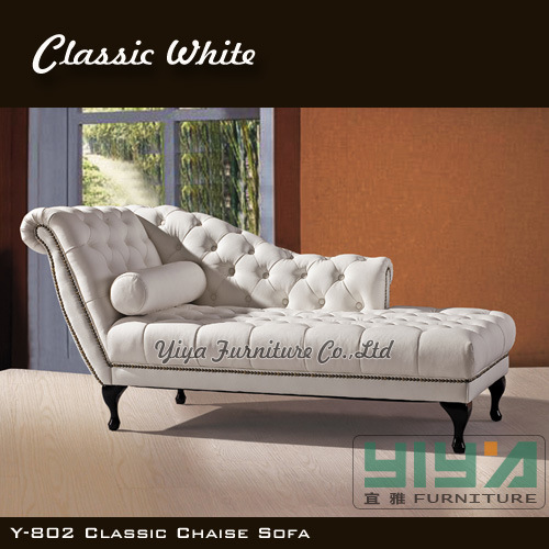 China Modern White Classic European Leisure Style Chaise Lounge Chair Hotel F