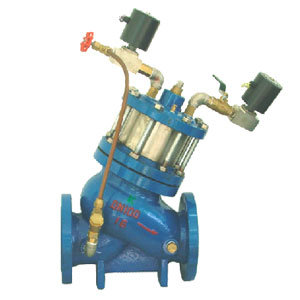 Automatic Electronic Solenoid Remote Controlled Valve (GJ145X)