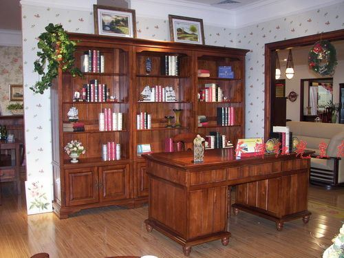 China study room furniture china solid wood furniture home office Home study furniture design