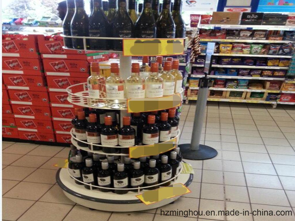 The Newest Popular Supermarket Store Display Shelf with Storage Rack