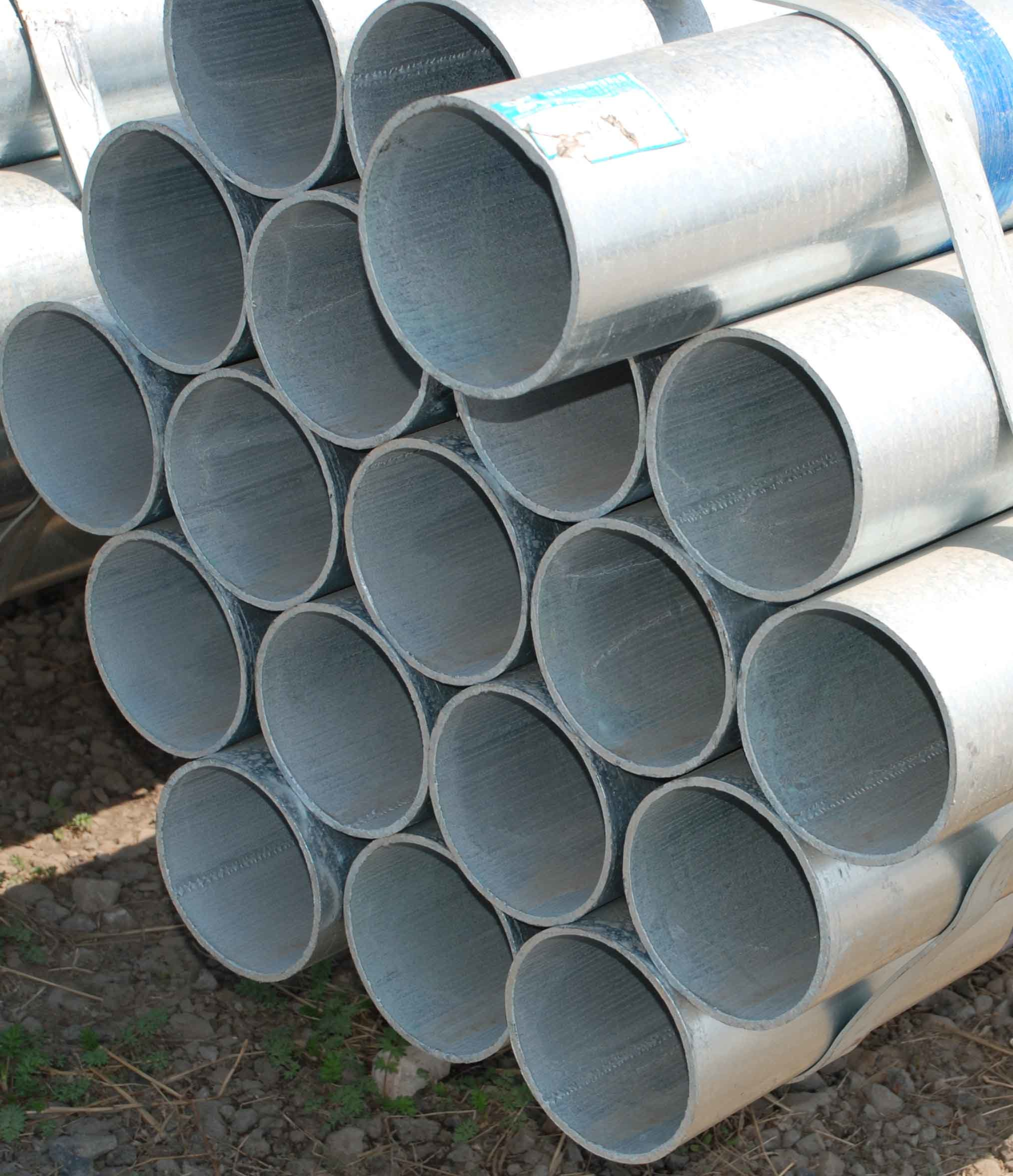 Round Steel Pipes : China round galvanized steel pipe