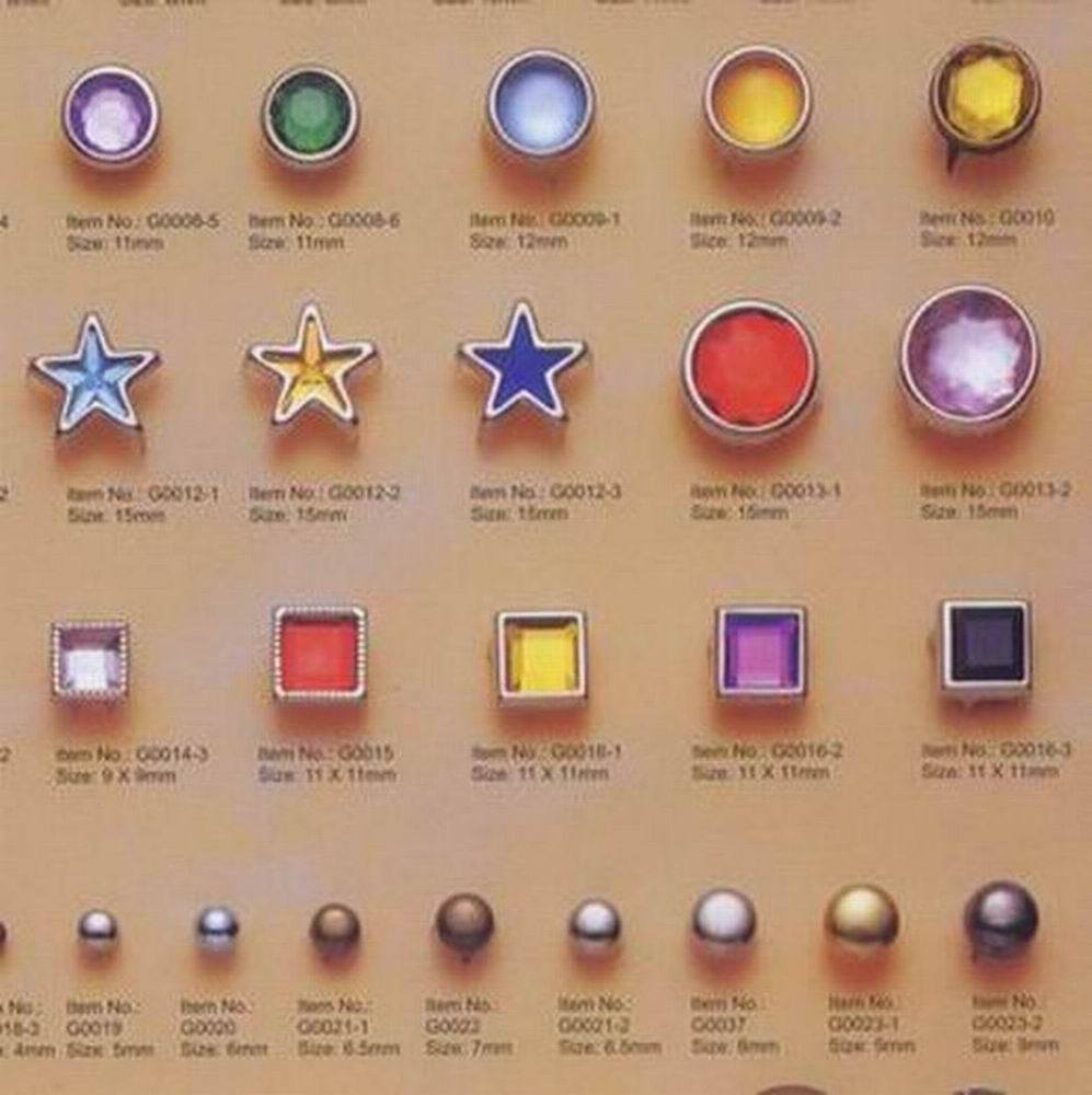 Nail Buttons: China Color Snap Buttons & Nail Head