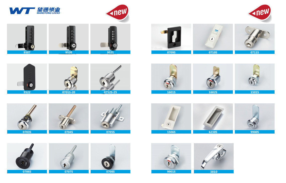 Wangtong High Security Electronic Lock Cylinder