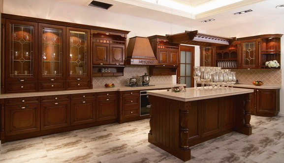 Solid Wood Kitchen Cabinet 2012 3 China Kitchen Cabinet Cabinet
