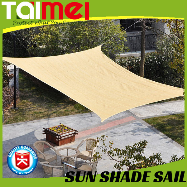PE Sun Shade Sail, Triangle or Square
