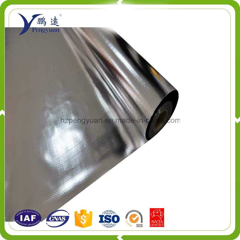Double Sides Alu Foil Woven Fabric Insulation Material for Pallet Cover