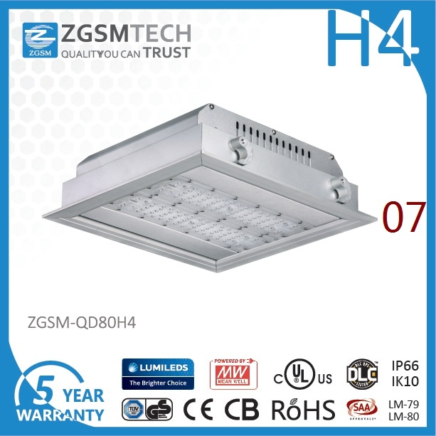 80W IP66 LED Recessed Lights with SAA Lumileds 3030 Chip