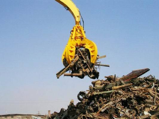 Hydraulic Type Excavator Grab for Handling Steel Scrap